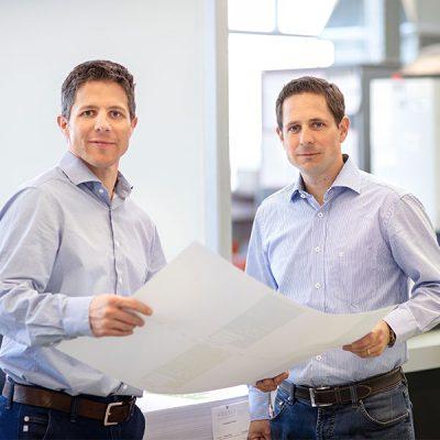 Brüder Markus und Renato Vögeli